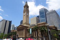Drei Tage Brisbane - Town Hall