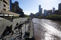 Melbourne - Southbank Flusspromenade