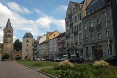 Eisenach - Stadttor und historische Gebäude