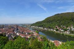 Heidelberg - Blick vom Schloß