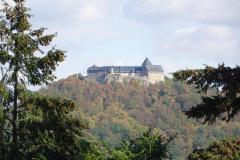 Schloss Waldeck - Blick aus dem Tierpark