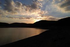 Sonnenuntergang am Edersee-Atlantis