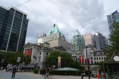 Vancouver - Art Gallery und Hotel Vancouver