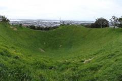 Auckland - Krater des Mount Eden