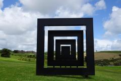 Gibbs Farm - Untitled (Red Square-Black Square) 4