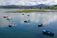 Roadtrip Nordküste Spanien - Boote in San Vincente de la Barquera