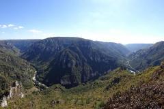 Cevennen - Tarnschlucht - Point Sublime