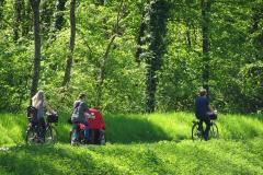 Fahrradtour am Bruche-Kanal