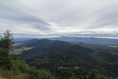 Puy de Dôme - Blick in die Auvergne