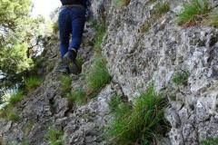 Road Trip Südfrankreich Italien - Aufstieg zum Chambre Du Turc