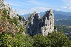 Road Trip Südfrankreich Italien - Les Dentelles
