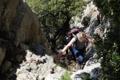 Road Trip Südfrankreich Italien - Les Dentelles Klettersteig