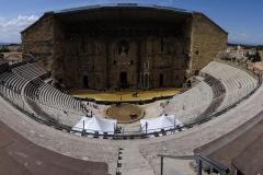 Road Trip Südfrankreich Italien - Orange Amphitheater