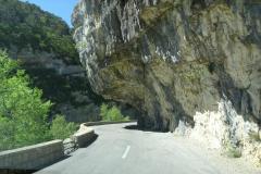 Schlucht von Verdon - Felsvorsprung