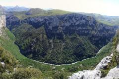 Schluchten von Verdon - belvédère de la dent d'aire Panorama