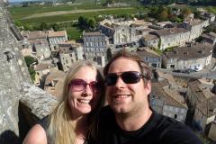 St-Émilion-Selfie-auf-dem-Glockenturm