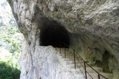 Wanderung in der Verdonschluss - Ausgang Tunnel