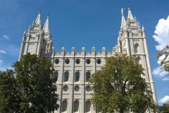Salt Lake City Mormonen Tempel