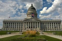 Salt Lake City Utah State Capitol