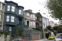 Wohnviertel in San Francisco