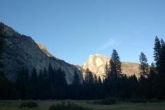 Blick auf den Half Dome aus dem Yosemite Valley
