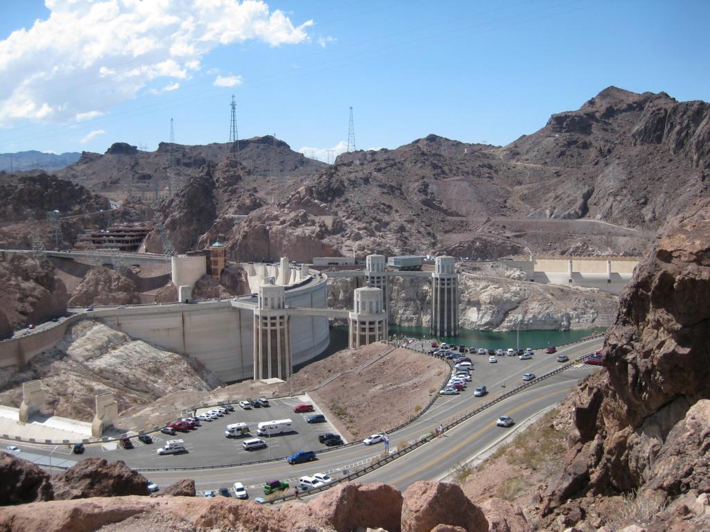Hover Dam von oben