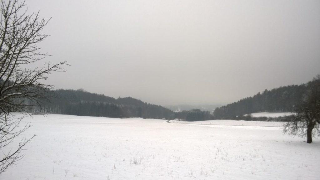 Fränkische Schweiz im Schnee