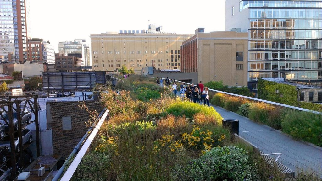 New York - Highline Park - Foto von Kārlis Dambrāns (Flickr.com)