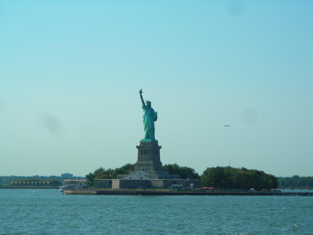 Staten Island Ferry - Blcik auf die Freiheitsstatue