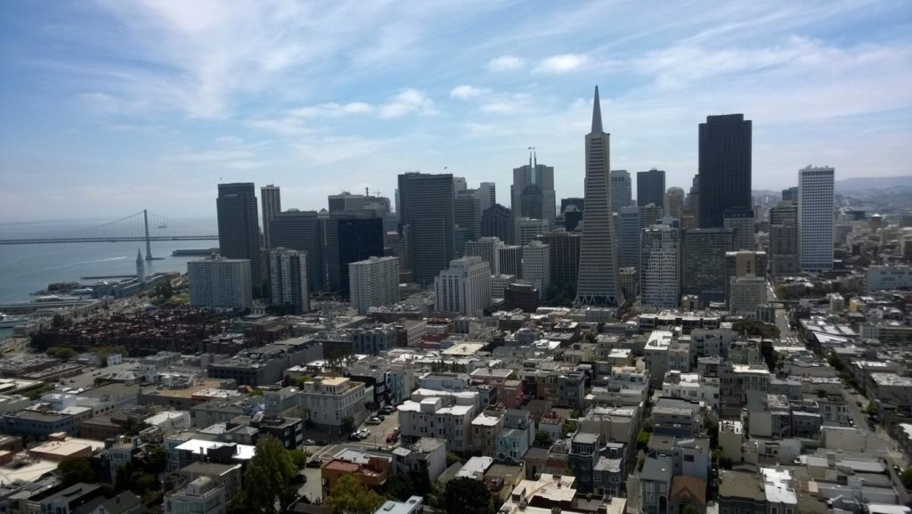 San Francisco - Blick vom Coit Tower