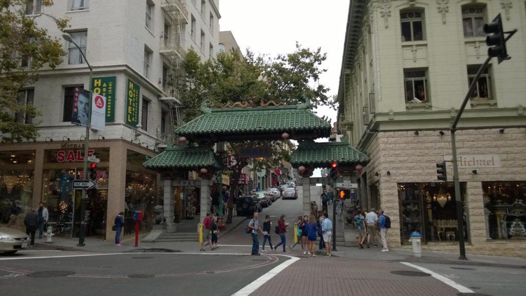 San Francisco - Chinatown Dragon Gate