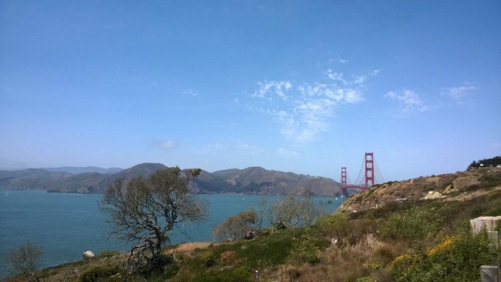 Golden Gate Bridge vom Coastal Trail