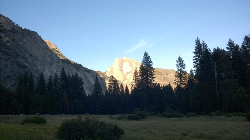 Yosemite Valley Half Dome in der Sonne