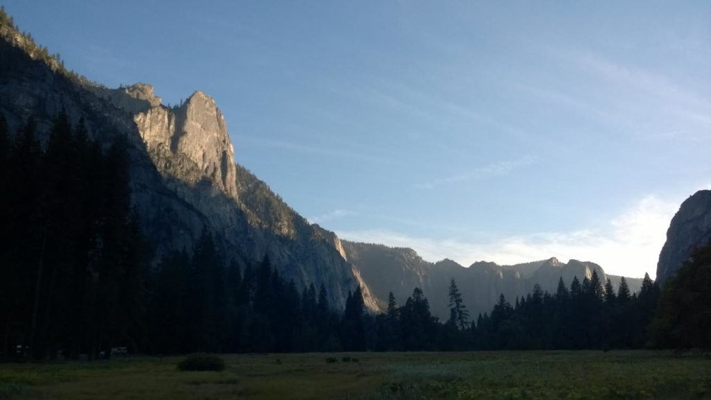 Yosemite Valley abends