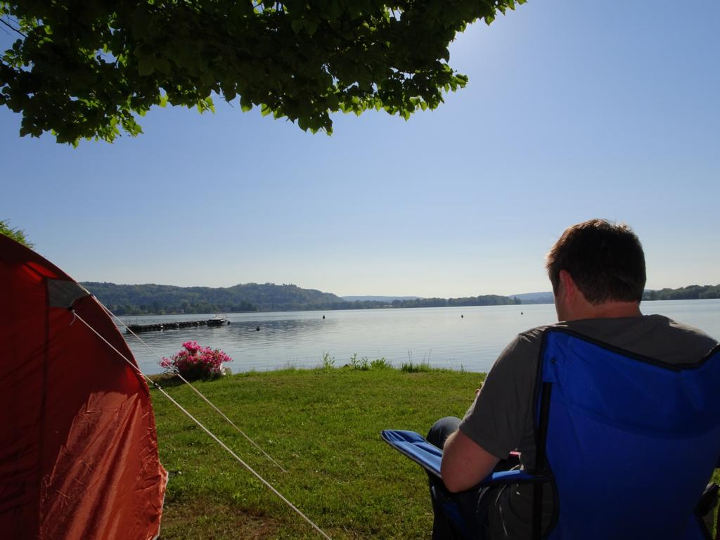 Road Trip Südfrankreich Italien - Camping am Lago Magiore