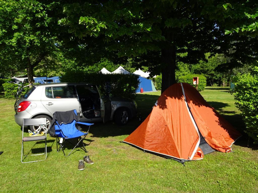 Road Trip Südfrankreich Italien - Campingplatz am Lago Maggiore