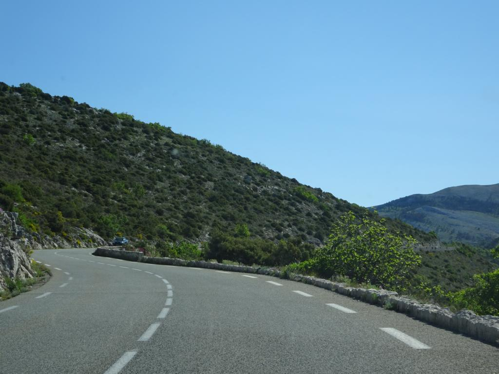 Road Trip Südfrankreich Italien - Fahrt zru Verdonschlucht 2