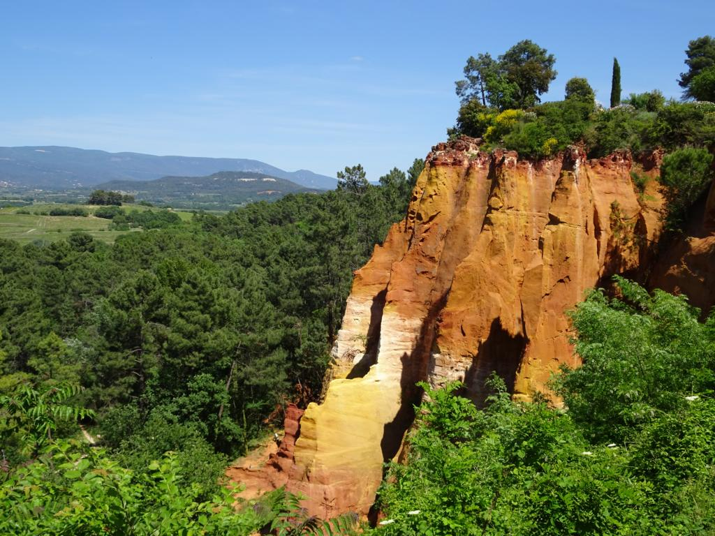 Road Trip Südfrankreich Italien - Ockerbrüche von Roussillon