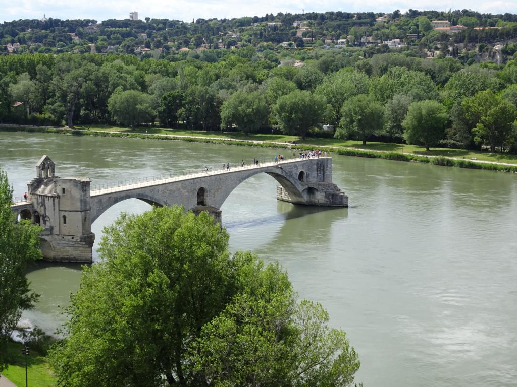Road Trip Südfrankreich Italien - Pont d'Avignon