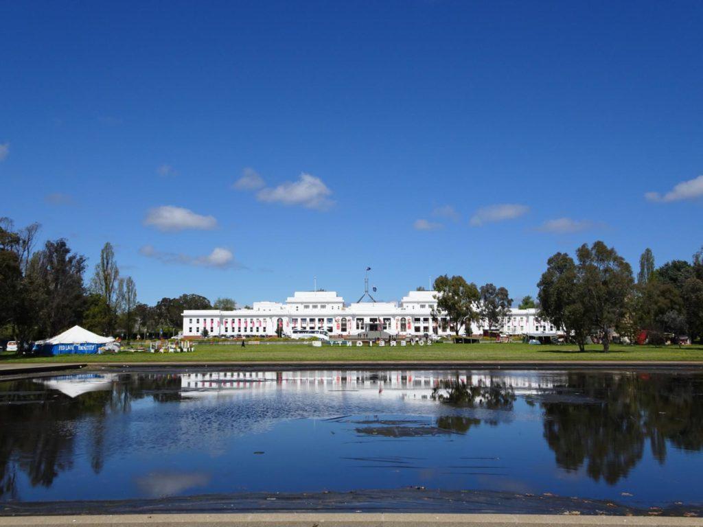 Canberra - Altes Parlament