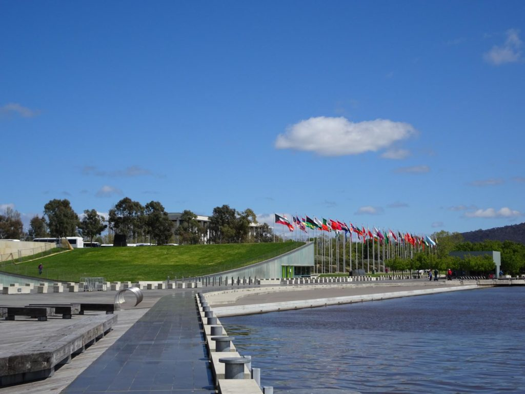 Canberra - Flag Display