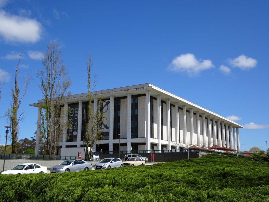 Caneberra - Bibliothek