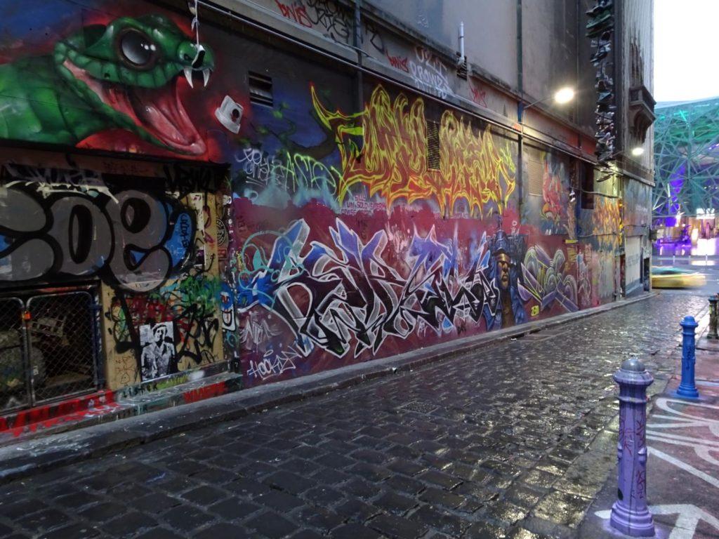 Melbourne - Graffiti Hosier Lane