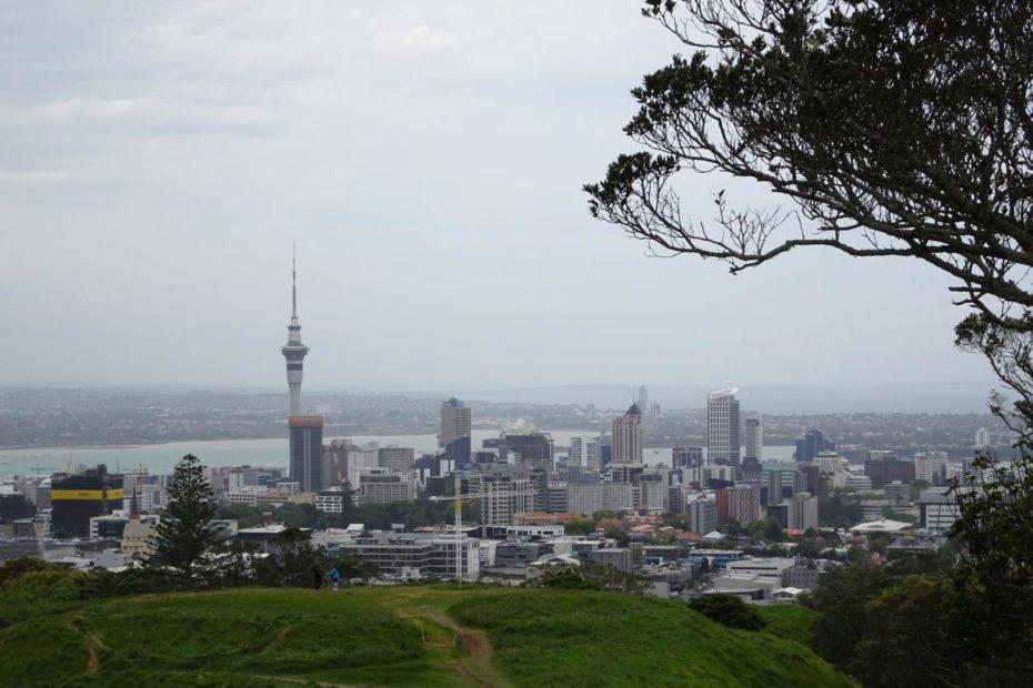 Auckland - Skyline von Mount Eden