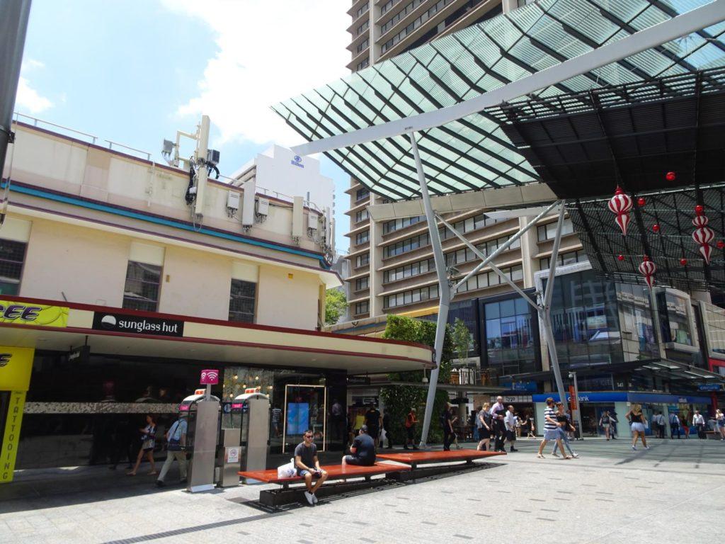 Drei Tage Brisbane - Queen Street Mall