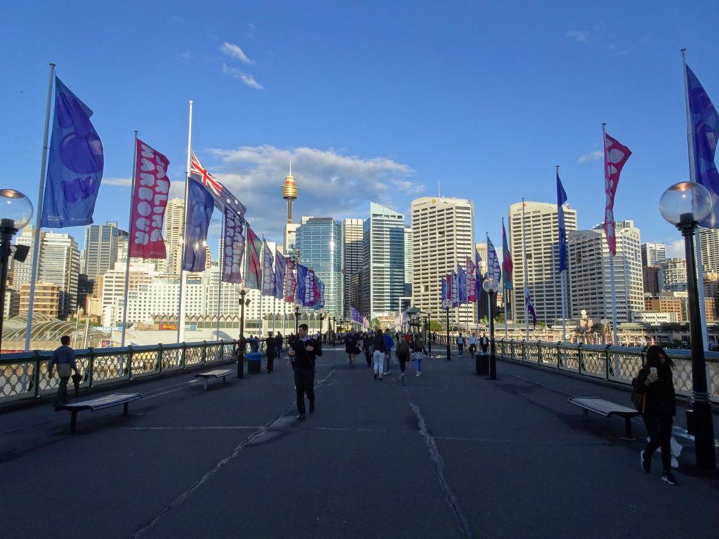 Sydney Reisetipps - Darling Harbour Bridge