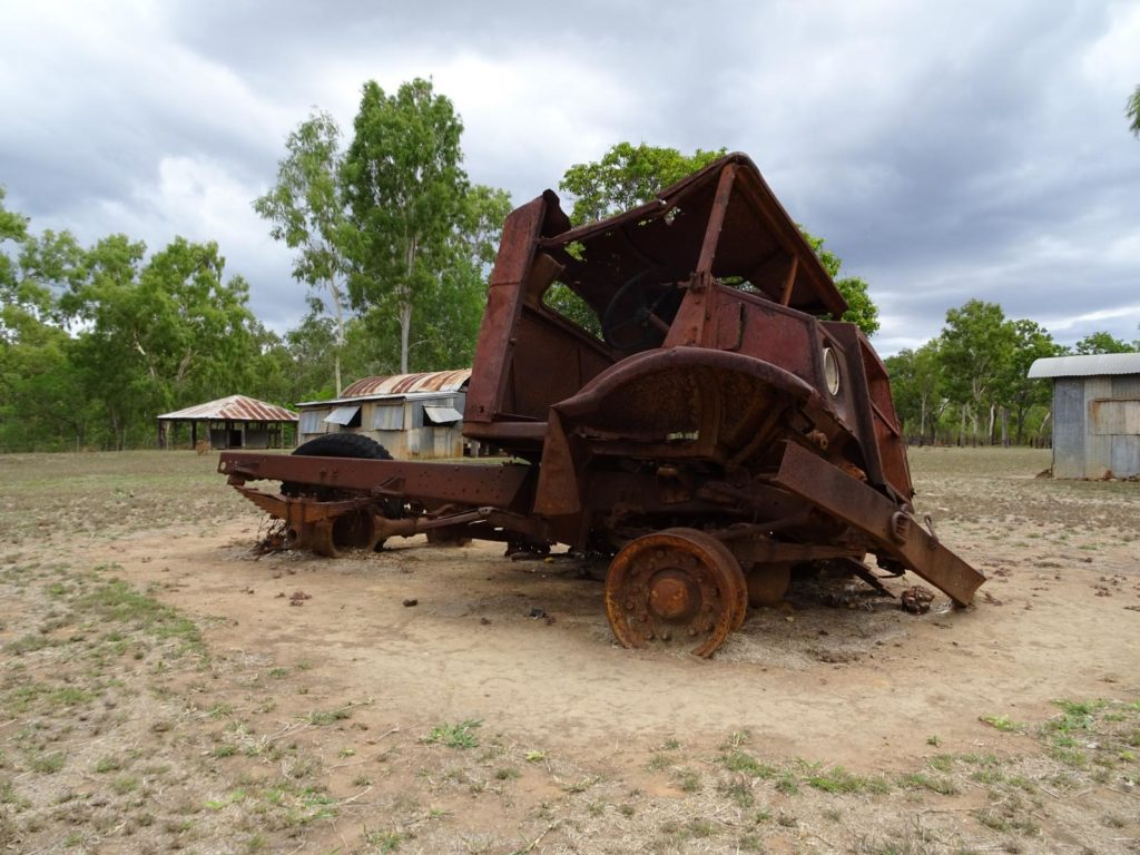 Lakefield Nationalpark - Rostiger Truck Old Laura Homestead