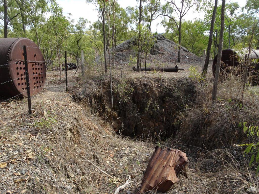 Palmer River Maytown - Schacht zur Ida Goldmine