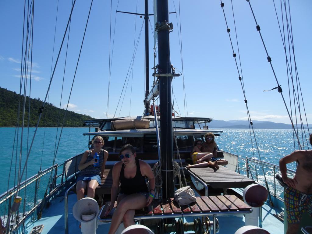 Das Segelboot Habibi