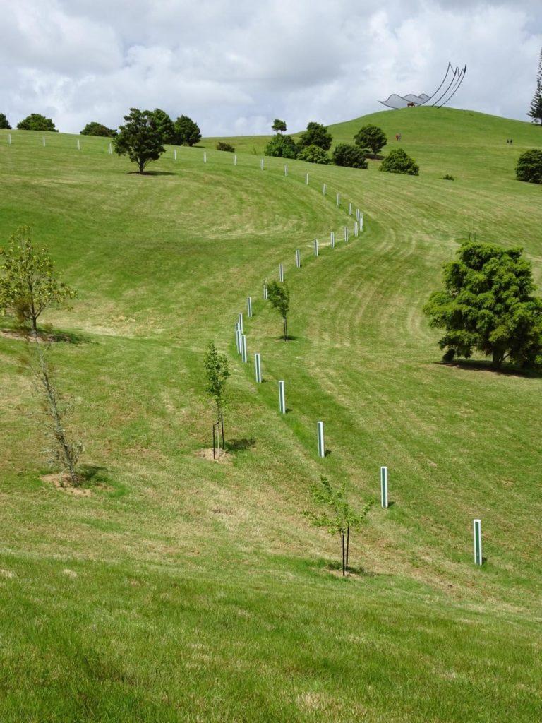 Gibbs Farm - Green and White Fence